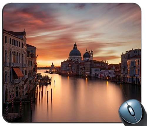 - Gemeinsame Gaming Mouse Pad, Den Canal Grande in Venedig Maßgeschneiderte rechteckige Rutschfesten Gummi - Mousepad Gaming Mouse Pad