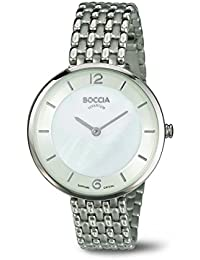 Boccia Damen-Armbanduhr Analog Quarz Titan 3244-05