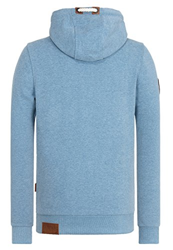 Naketano Male Hoody Supapimmel IX light blue melange