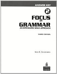 Focus on Grammar 2 Answer Key