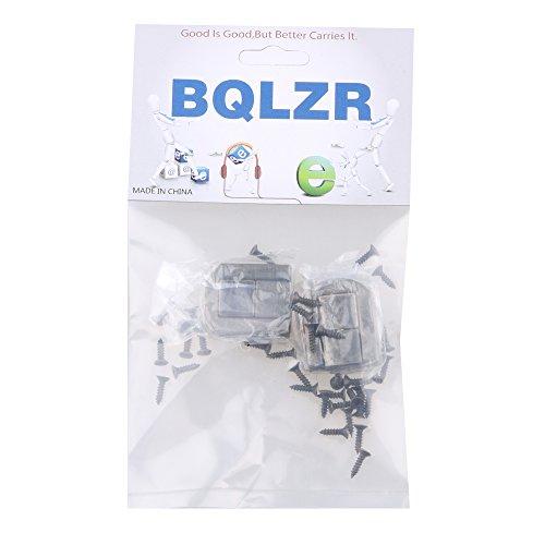 BQLZR 4pcs Bronze 2.5x2cm Dekorative Buckle Bügelschloss Vorhängeschloss Schließe für Schränke