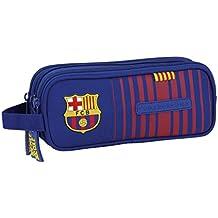 FC Barcelona 811729635 - Estuche portatodo triple