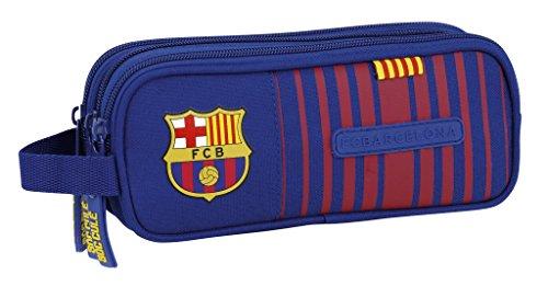 Safta Estuche F.C. Barcelona 17/18 Oficial Triple cremallera 210x70x85mm