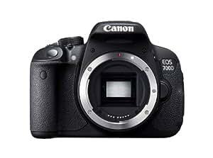 Canon EOS 700D + EF-S 18-200mm f/3.5-5.6 IS + SD 4GB Kit d'appareil-photo SLR 18MP CMOS 5184 x 3456pixels Noir - Appareils photos numériques (18 MP, 5184 x 3456 pixels, CMOS, Full HD, Écran tactile, Noir)
