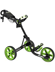 Clicgear Tolley 3.5 - Charcoal / Lime - Drei-Rad-Golftrolley Push Cart