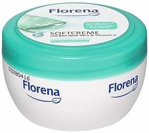 Florena Softcreme mit Bio Aloe Vera, 3er Pack (3 x 200 ml)