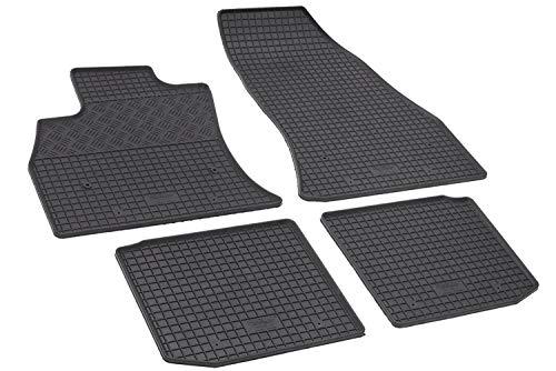 IlTappetoAuto - 903157 - Lot de tapis de sol pour voiture, en caoutchouc, inodore