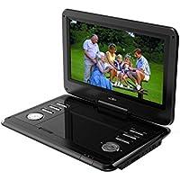 """Reflexion DVD1203 Portable DVD player Convertible 11.6"""" 1366 x 768pixels Black portable DVD/Blu-Ray player - Portable DVD/Blu-Ray Players (29.5 cm (11.6""""), 1366 x 768 pixels, LCD, 29.5 cm, 16:9, MPEG4) - Trova i prezzi più bassi su tvhomecinemaprezzi.eu"""