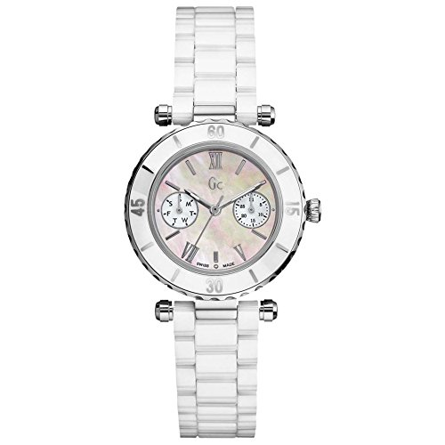 Gc Guess Collection Diver Chic Orologio da donna sportivo Con elementi in ceramica