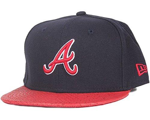 9694305a120b New Era Atlanta Braves Reptile Vizor Strapback Cap 9fifty Basecap OSFA  Reptvize