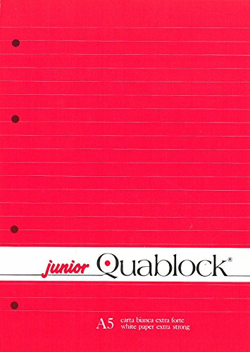 BLOCCO COLLATO QUABLOCK JUNIOR A5 1R