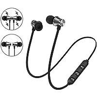 Gugio Auriculares magnéticos Bluetooth 4.1 Auriculares estéreo inalámbricos Auriculares Deportivos con micrófono para iPhone, Android, iPod y iPad