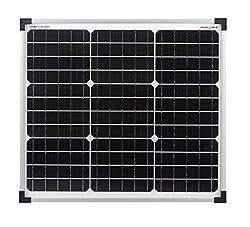 enjoysolar® Mono 30W Solarmodul Solarpanel Monokristallin 30Watt 12V ideal für Garten Wohnmobil Caravan
