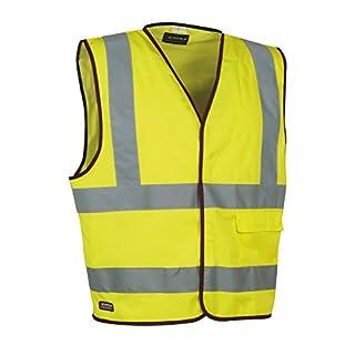Cofra Warnweste Clear V073-1 Warnschutz Weste in Signalfarbe, gelb, 40-00V07300-XXL