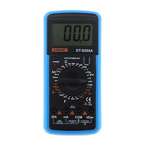 prettygood7 Multimeter ANENG DT-9205A Wechselstrom-DC-Digital-Multimeter-elektrischer Handprüfvorrichtung-Meter