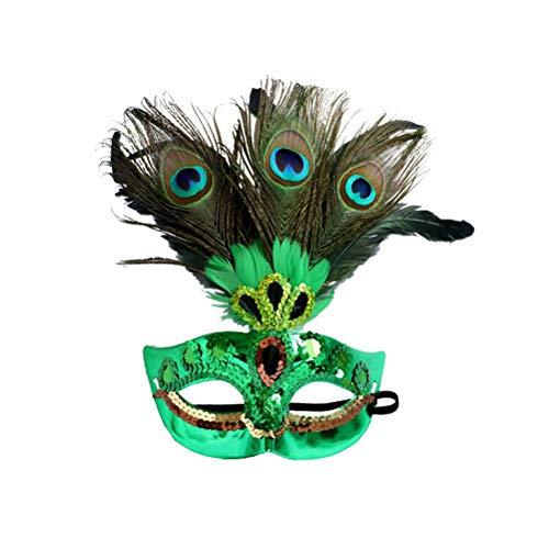 - Pfau Kostüm Maske