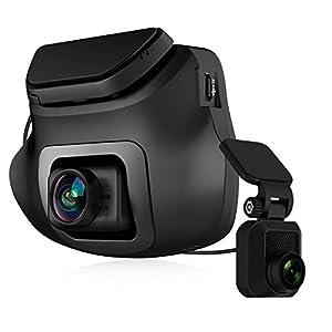 Z-Edge Dual Autokamera Dashcam Ultra HD 1440P Frontkamera & 1080P Rückkamera, 150° Weitwinkelobjektiv, WDR, Bewegungserkennung, G-Sensor, Parküberwachung, Super Night Vision, inkl.16GB MicroSD Karte