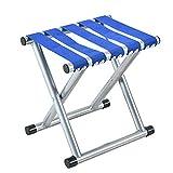 #10: TIED RIBBONS Folding Stool for Camping Garden, Balcony, Terrace, Lawn(30 cm X 30 cm X 24 cm)