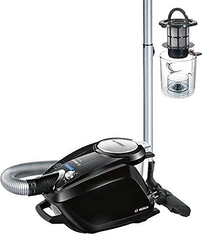 Bosch Relaxx'x proSilence66Cylinder Vacuum 3L 700W à Black, Silver–vacuums (700W, à, 28kWh, 2400W, Cylinder Vacuum, bagless)