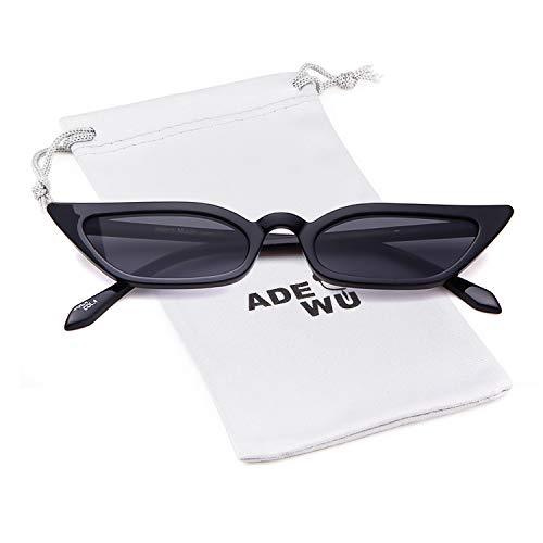 ADEWU Katzenauge Sonnenbrille Vintage Rechteck Brille Frauen Damen