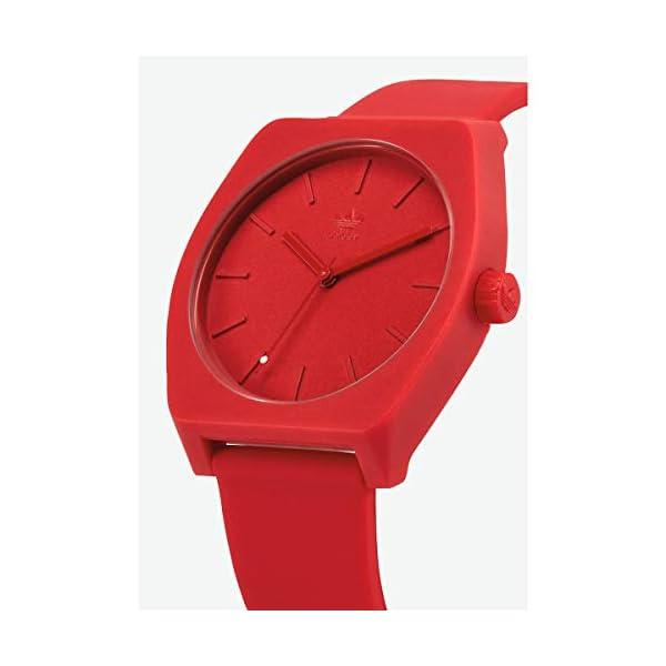 Adidas Reloj Analógico para Hombre de Cuarzo con Correa en Silicona Z10-191-00