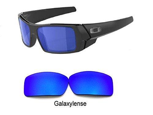 Galaxis Ersatzgläser für Oakley Gascan polarisierend blau 100% uvab - S, Regular