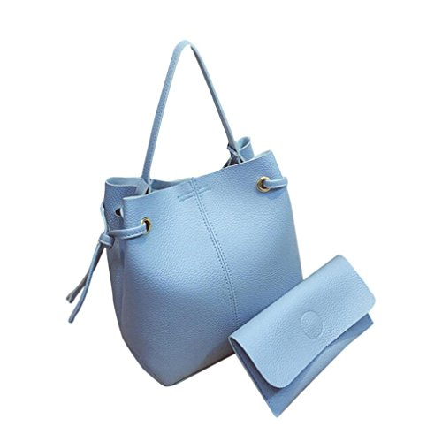 Croce Corpo Messenger Shoulder Bag + Pochette blu