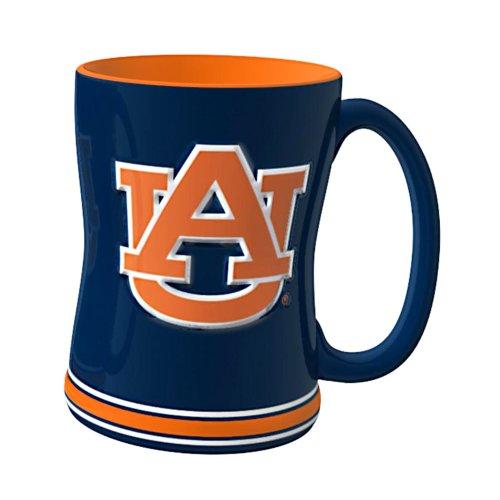 Boelter Brands NCAA Auburn Tigers modellierte Relief Tasse, 14-Ounce -