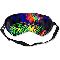 Natural Silk Eyes Mask Sleep Rainbow Butterfly Blindfold Eyeshade with Adjustable for Travel,Nap,Meditation,Sleeping... preisvergleich bei billige-tabletten.eu