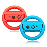 Best NINTENDO Friends Whens - Switch Steering Wheels,Anti-Slip,Anti-Sweat Joy-Con Wheel for Nintendo Switch-Red Review