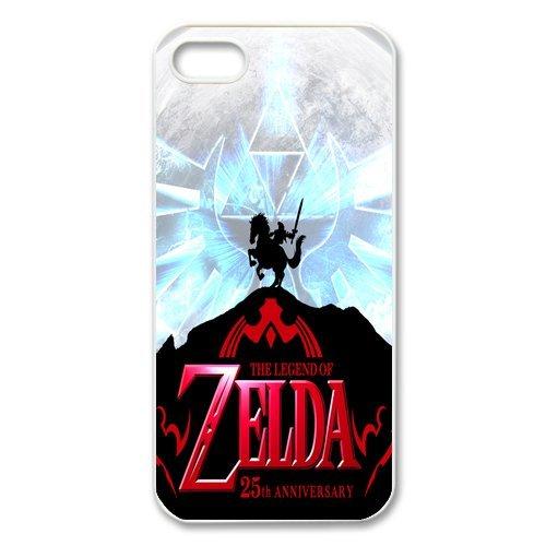 iPhone 5S Coque de protection en TPU pour, Customize The Legend of Zelda Case for iPhone 55S, [The Legend of Zelda] Transparent Back Cover étui en silicone pour iPhone 5/5S