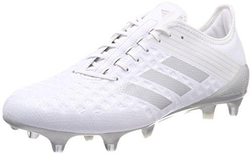 adidas Herren Predator Malice Control SG American Football Schuhe Weiß Plamet/Ftwbla 000, 44 2/3 EU