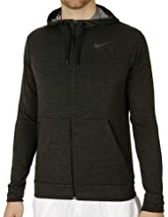 NIKE Herren Kapuzenpullover DRI-FIT Training Fleece Full Zip, 742210