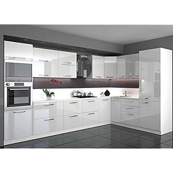 Küche L Form Hochglanz 340 M X 220 M Mit E Geräten