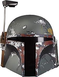 Star Wars- Black Series Casco Electrónico Boba Fett (Hasbro E75435L0)