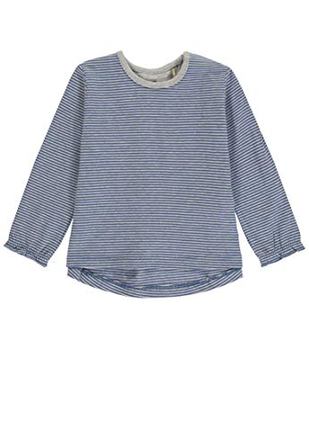 Bellybutton mother nature & me Baby-Mädchen T-Shirt 1/1 Arm Langarmshirt, Mehrfarbig (Y/D Stripe 0001), 80
