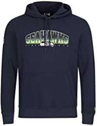 New Era NFL SEATTLE SEAHAWKS Fan Pullover Hoodie, Größe:L