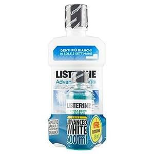 Listerine Collut.Advanced White Ml500+95