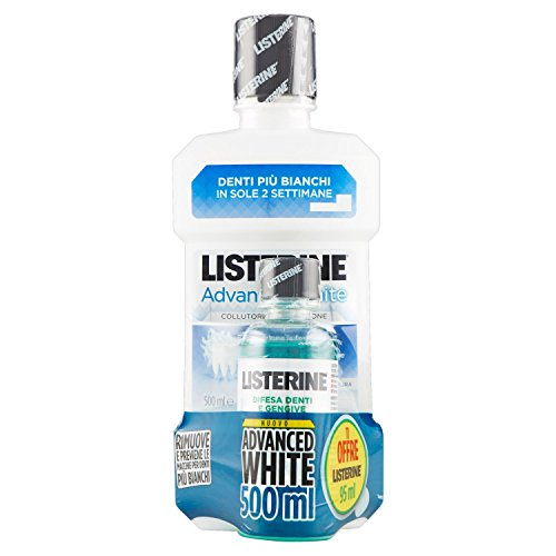 Listerine Collut.Advanced White Ml500+95