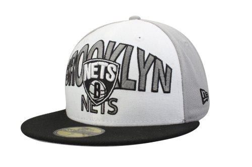 Casquette Brooklyn Nets de New Era - Style: Team Word Arch | Taille 6 7/8-7 5/8