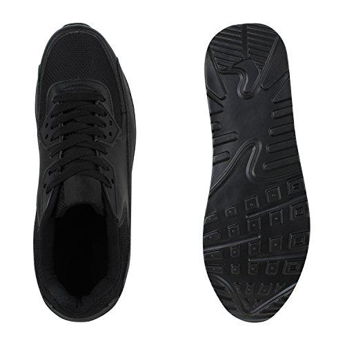 Damen Herren Unisex Laufschuhe Neon Runners Casual Schuhe Sportschuhe Schwarz Bexhill