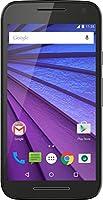 Motorola Moto G 3ème génération Smartphone débloqué 4G (Ecran: 5 pouces - 16 Go - 2 Go RAM - Simple Micro-SIM - Android 6.0 Marshmallow) Noir