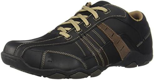 Skechers Diameter Vassell 62607, Zapatillas de cuero para hombre