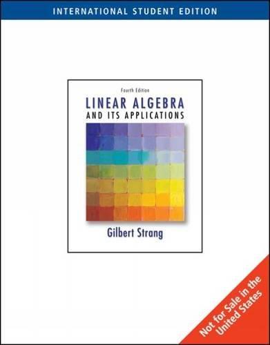 Linear Algebra and Its Applications por Gilbert Strang