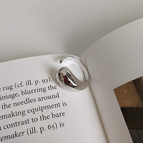 Schmuck 925 Sterling Silber Ring Persönlichkeit Hipster Schmuck Mode Gas großen Wasserring -