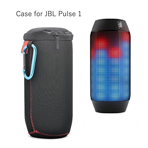 JBL Pulse 2 - Asia Long sottile portatile Neoprene Flip Zipper Sleeve Custodia protettiva Case Box da viaggio per JBL Pulse 2 altoparlante Bluetooth