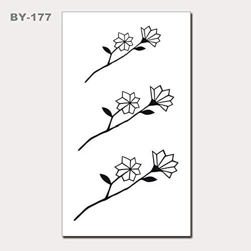 Clng-tool (Kleine frische wasserdichte Tätowierungaufkleber Koreanische nette Tätowierungaufkleber Tätowierungaufkleber 3Pcs-17 10.5x6cm)