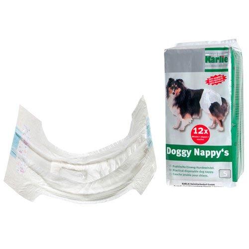 Karlie Doggy Nappy's Einweg-Hundewindeln, Windeln fr Hunde -