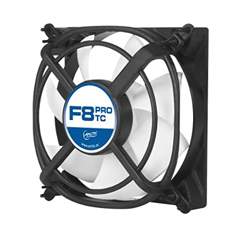 ARCTIC F8 PRO TC - 80 mm Ventilateur haute performance