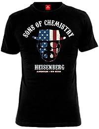 Tee-Shirt Noir Sons of Chemistry Breaking Bad